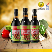 Chinese wholesale fermented food sype mushroom soy sauce with hight quality