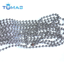 Guangzhou custom jewelry making gold plated ball chain