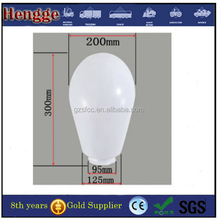 led diffusers plastic cover, 130mm diameter Polycarbonate