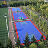 PP interlock for outdoor basketball flooring