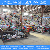 bales of mixed used clothing for sale cream