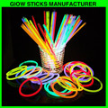 Per tube 5 color mix packaging 8 inch glow stick bracelets