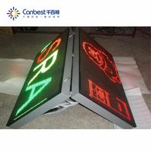 P10 Double Sided Advertising Digital Sign Outdoor Led Large Screen Display