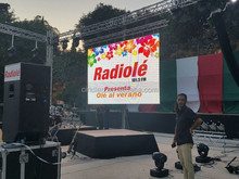 Stage Events LED Display Full Color Led Rental Screen P8 Outdoor Usage