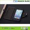 Good quality for leather iphone 5 case,for iphone 5 flip case
