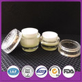 15g/30g/50g fashion design cylinder shape acrylic cream jar/cosmetic cream container
