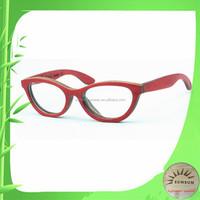 custom changable lens optical frame Cat eye style eyewear