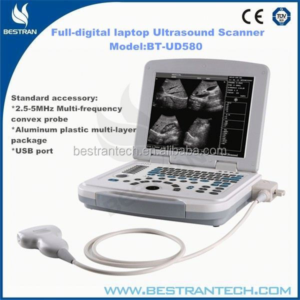 "BT-UD580 12""LED Full-digital laptop cheap portable ultrasound china prices"
