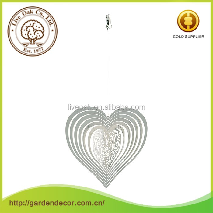 Stainless steel metal wind chimes spinners