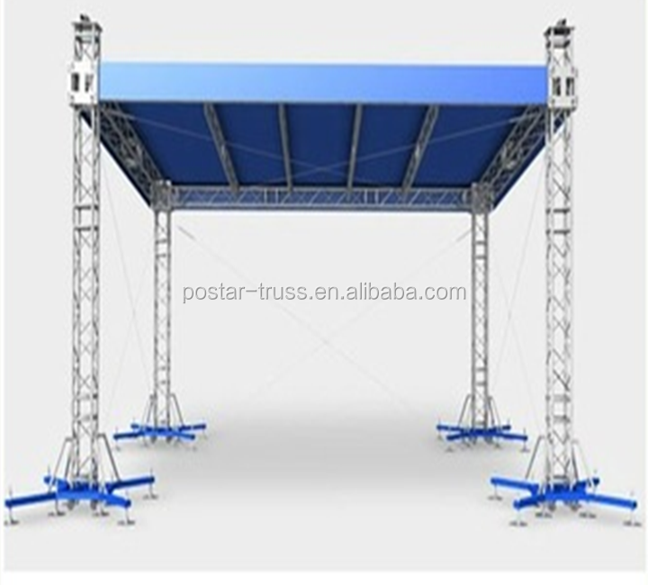 Durable aluminum roof truss tent for event and concert for Buy truss