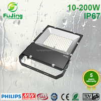 Super slim swing outdoor led basketball court flood lights 20W fixture
