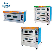 Bakery Equipment Commercial Bread Cookie Biscuit Baking Machine Gas Pizza Oven