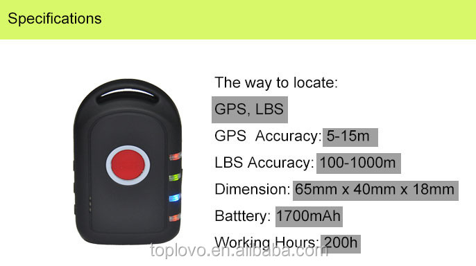 Made in China gps location transmitter with Listen-in Function