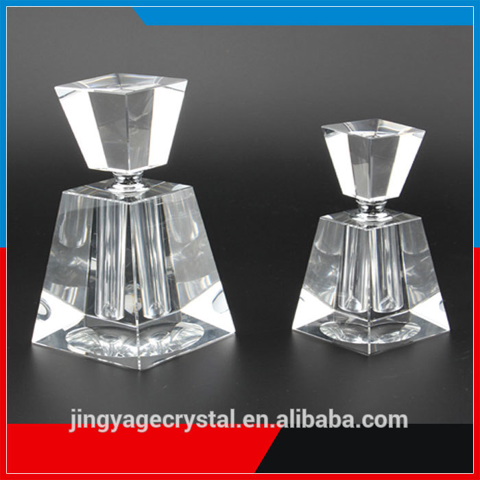 Trade assurance free sample lead crystal glass brands 10ml perfume bottle crystal
