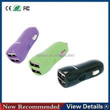 Mini Usb Car Charger Adapter,2 3 4 Port Usb Car Charger With Certifications,4.8a Dual 7.2a Triple 9.6a 4 Usb Car Charger