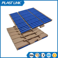 customize Plast Link 821 mesh chain for Food Grade chain