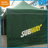Waterproof pop up inflatable tent for advertising