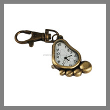 plastic antique multi-purpose smart cute clock key chain