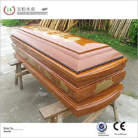 Made in China coffin for the dead