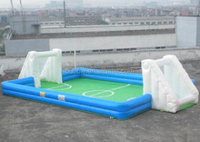 soccer field inflatables/high quality inflatable soap soccer arena