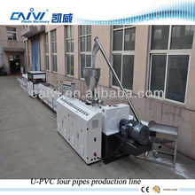 PVC Four Pipe PVC PPR PE plastic pipe production line (extrusion line / extruder machine / making Complete Production Line