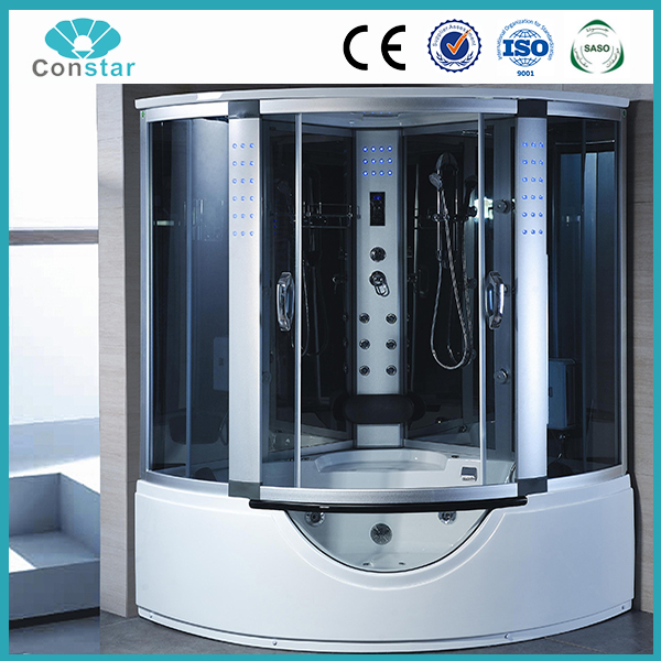 Complete portable steam shower room,cheap high quality durable strong bathroom cabinet price
