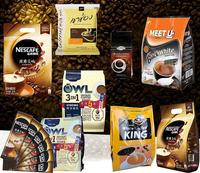 yason hot heat shrink custom made coffee sleeves instant coffee premix sachets ground coffee packaging
