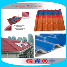 Plastic Roofing building material/3 layer UPVC Roof Sheet/PVC Roofing Sheets
