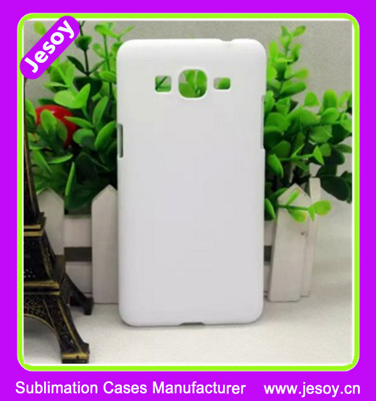 JESOY Blank Sublimation 3D Plastic Mobile Cover Case For Samsung Galaxy Grand Prime sm-g530h Case