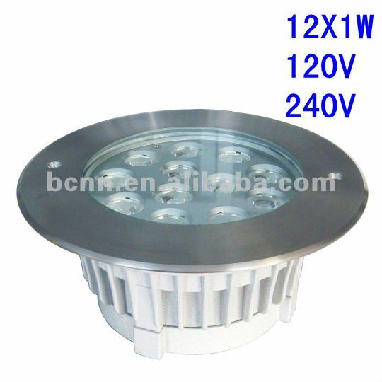 824121-H 2016 new products 12*1w garden mini inground light,outdoor led recessed uplight