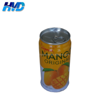 5104 Round Tin Drink can for mango juice Packing