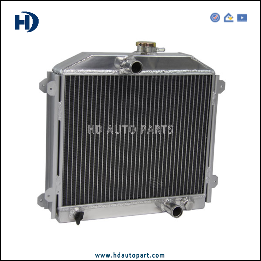 56mm 3 Row Alloy High Performance Radiator for Honda Civic 1973-1979