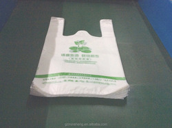 Custom Retail Plastic Shopping Bag for Supermarket