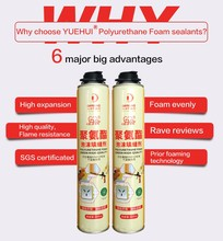 Aerosol Canned Polyurethane Pu Foam Spray Sealant In Construction