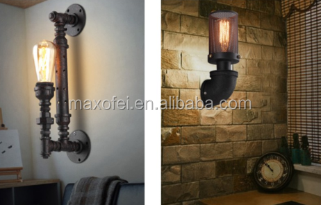 American Industry retro style water pipe pendant lamp/light
