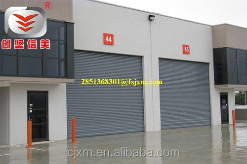 Shutters Type and Aluminum Alloy Material Rolling Shutter Door Parts