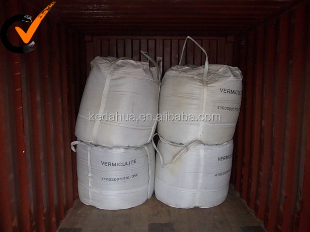 Crude And Exfolaited Silver Vermiculite
