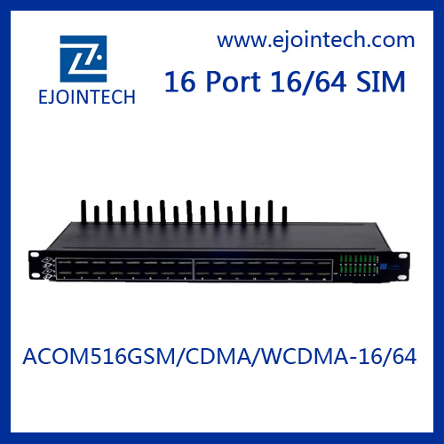 new ejoin oem service wavecom module 16 ports cdma voip gateway supports inter-calling avoided simcard blocked