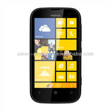 Anti-scratch Ultra Clear Transparent Plastic Mobile Phone Touch Screen Protector For Cell Phone For Nokia Lumia 510 New Model