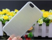 Luxury High Quality Case For Iphone6 Soft transparent TPU Case brushed Wire Drawing TPU Case For Iphone 6 /6s