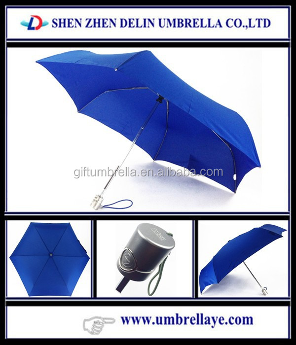 All old style 3 fold umbrella auto for rain, 6 ribs umbrella price