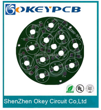 OEM aluminium pcb with leds pcb board service making