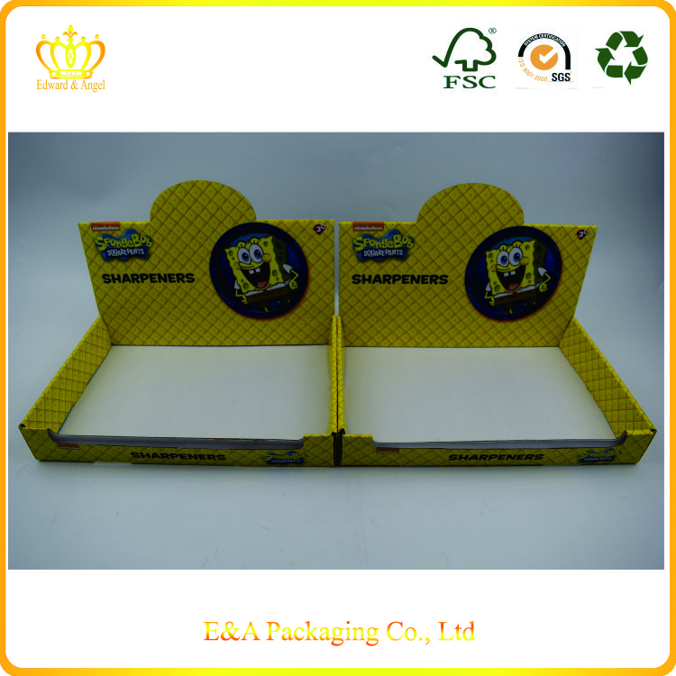 Custom made cardboard paper display box/display box made in China