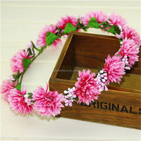 Best quality classical polyester hawaii flower lei
