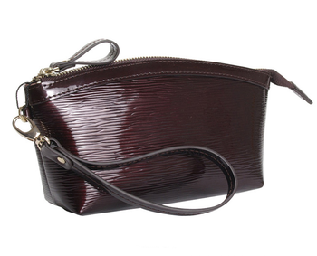Wholesale Good Quality Genuine Leather Cosmetic Bag women hand bag