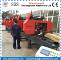 High Precision Multiple Heads Horizontal Band Saw With Electric Engine