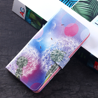 Functional cheap phone cover leather cace for OPPO