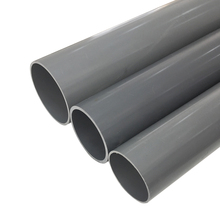 High demand low price oem 150mm lightweight pvc water inlet pipe