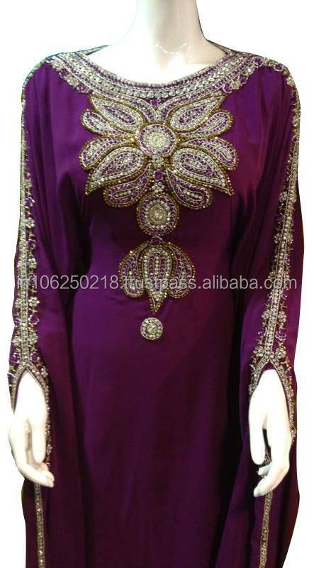 wedding islamic clothing for moroccan dubai kaftan designer abaya dress hijab style thobe maxi gown Turkey arab women k6988