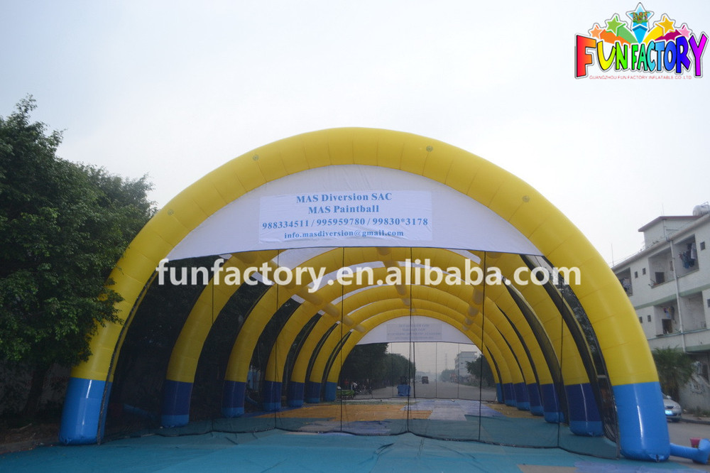 bulle gonflable,multi inflatable tent,party tent